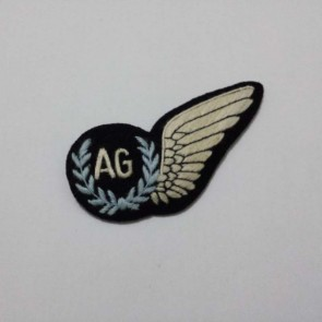 WW2 BRITISH RAAF AIRCREW AIR GUNNER BADGE