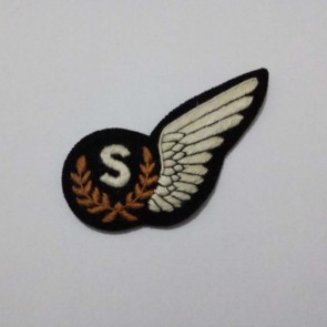 WW2 BRITISH RAF AIRCREW SIGNALLER BADGE