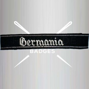 WW2 GERMAN ARMY GERMANIA SS ARMBAND CUFF TITLE