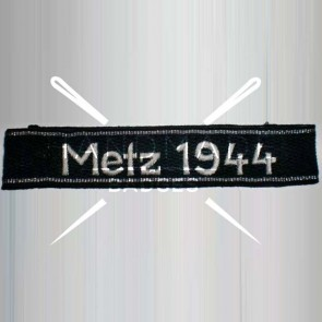 WW2 GERMAN ARMY METZ 1944 SS ARMBAND CUFF TITLE