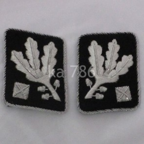 WW2 GERMAN ARMY OBERGRUPPENFÜHRER SS COLLAR TABS