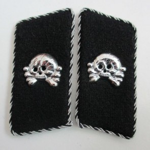WW2 GERMAN ARMY PANZER PIONEER SS COLLAR TABS