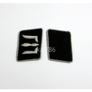 WW2 GERMAN ARMY WEISSRUTHENISCHE SS COLLAR TABS
